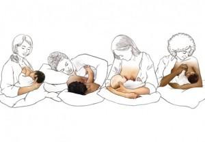 Atasarea copilului la san
