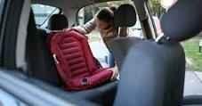 Scaun auto gonflabil copii