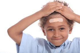 Loviturile la cap la copii
