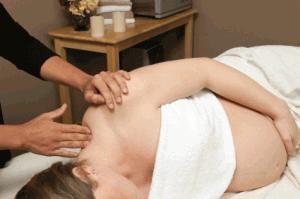 Masajul gravidei